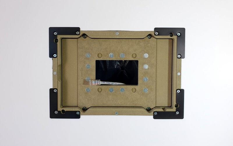 retrofit flush mount for TSW-1070