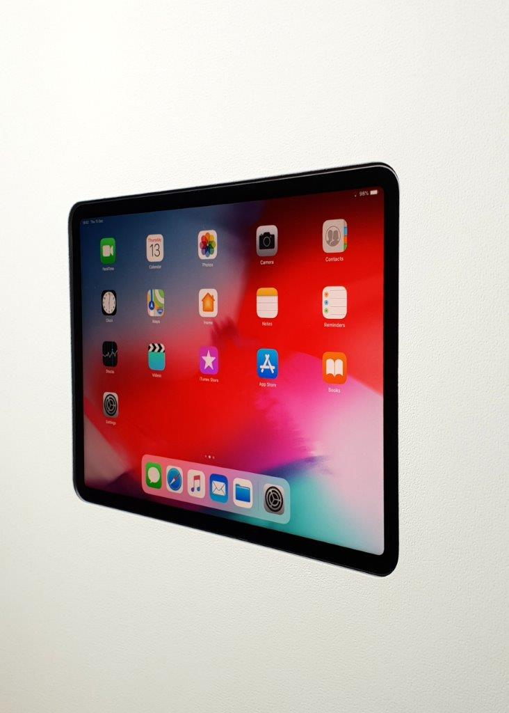 "WALL-SMART INVISIBLE MOUNTS FOR IPAD PRO 12.9"" 4TH GEN."
