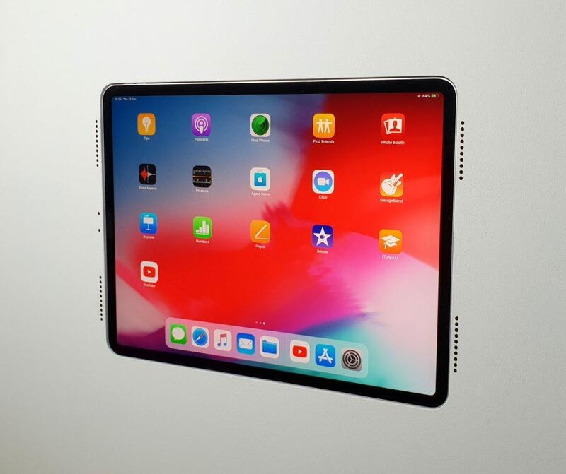 "WALL-SMART INVISIBLE MOUNT FOR IPAD PRO 12.9"" 4TH GEN. WITH GRILLS"