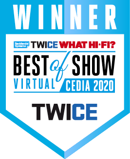 Wall-Smart Best of Show Twice CEDIA 2020
