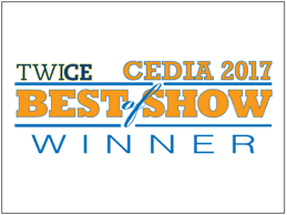 Wall-Smart Best of Show Twice CEDIA 2017
