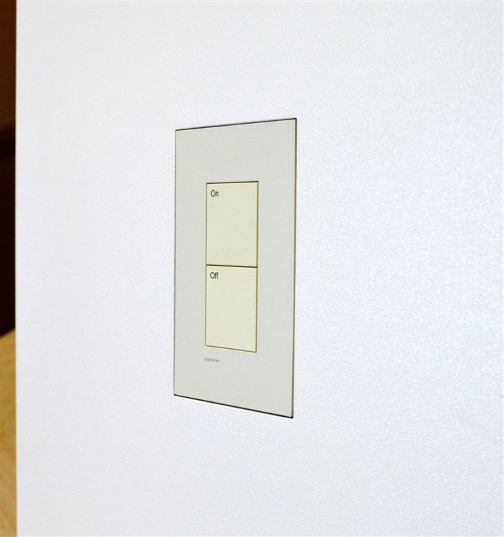 new construction flush mount for Palladiom US Style Matte