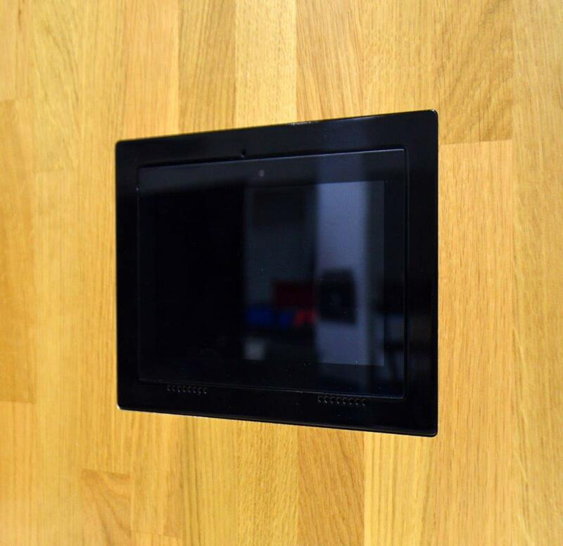 solid surface flush mount for C4-WALL7-