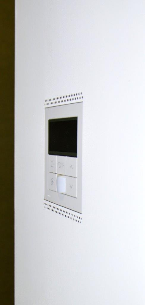new construction flush mount for Palladiom QS Thermostat Matte