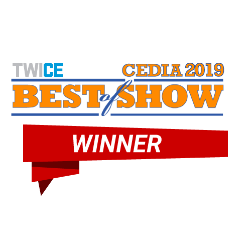 Wall-Smart Best of Show Twice CEDIA 2019