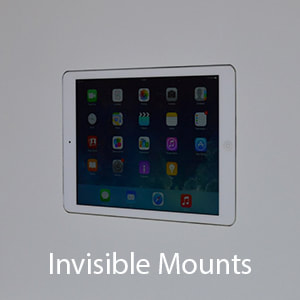 Wall-Smart Invisible mounts for iPad mini 5