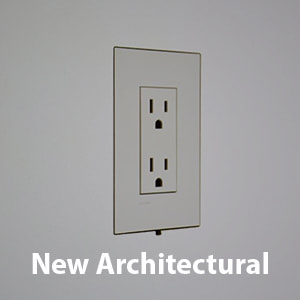 Flush mounts for Lutron New Architectural